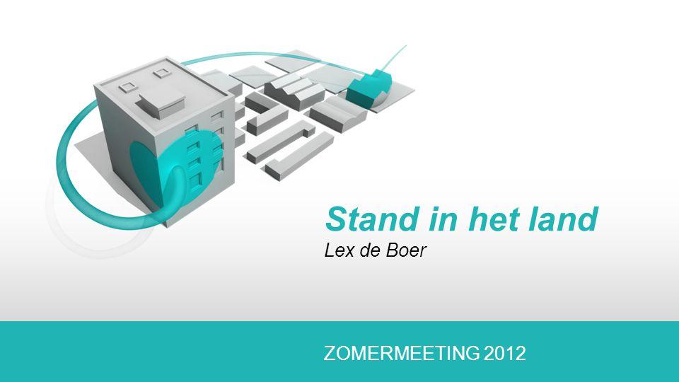 Stand in het land Lex de Boer ZOMERMEETING 2012
