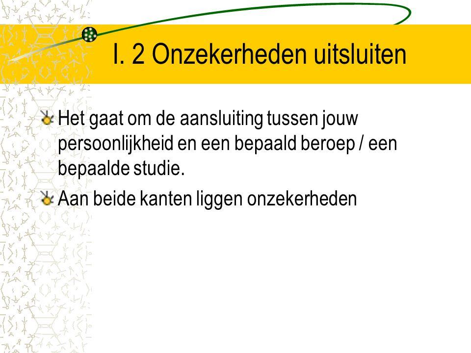 II.5 Werkend leren / werken en leren Werkend leren: trajecten waarbij je (bijvoorbeeld) vier dagen werkt en een dag naar school gaat.
