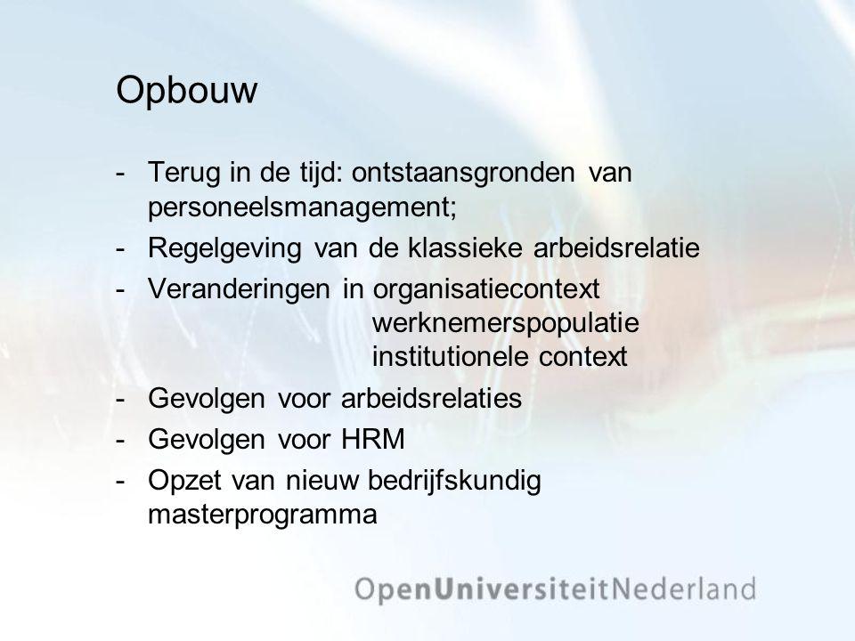 Enkele voorbeelden Wat is de ideale wervings- en bezettingsmix.