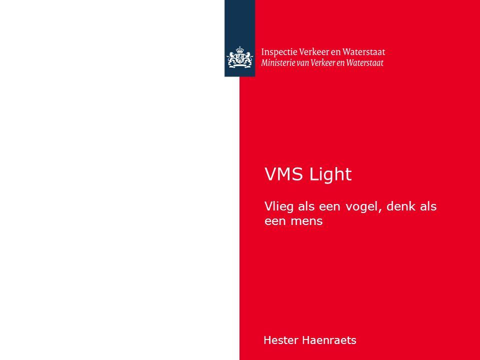 VMS Light Vlieg als een vogel, denk als een mens Hester Haenraets