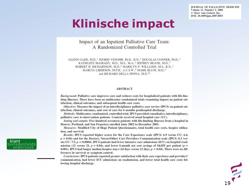 Klinische impact 19
