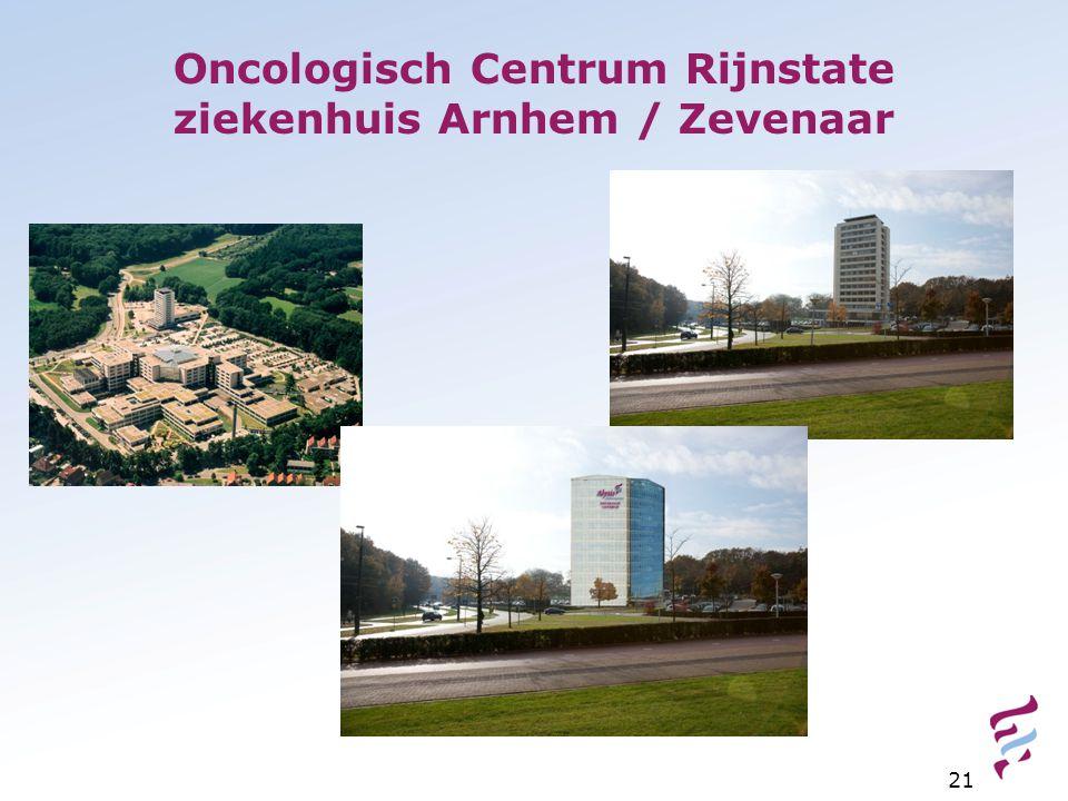 Oncologisch Centrum Rijnstate ziekenhuis Arnhem / Zevenaar 21