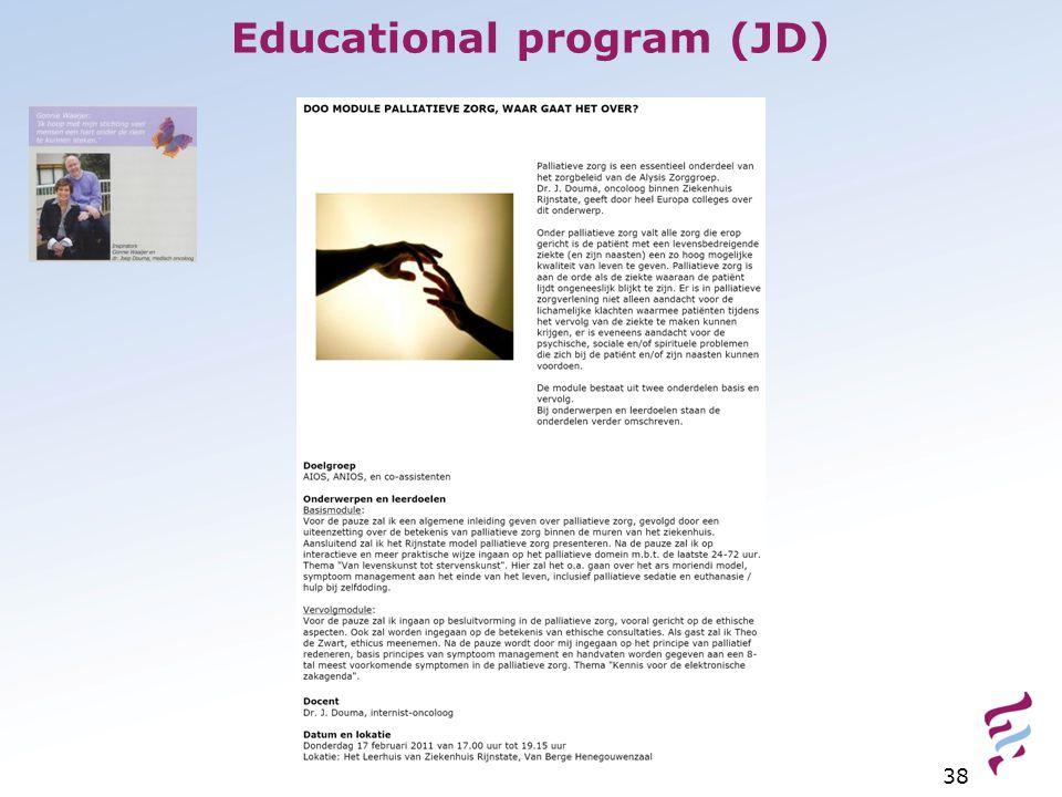 Educational program (JD) 38