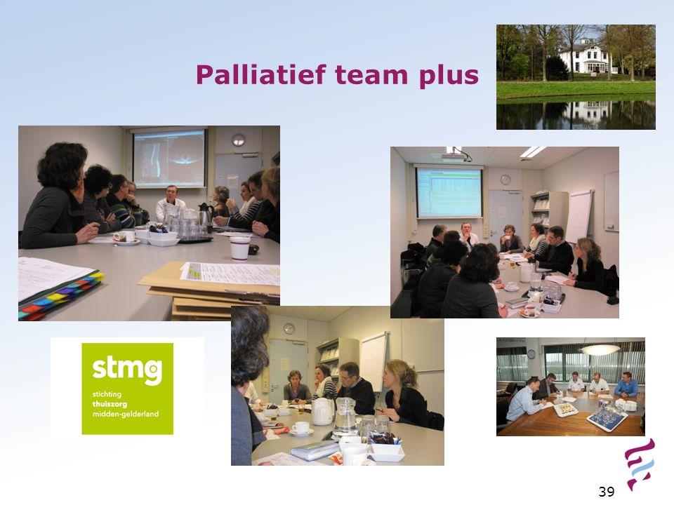 Palliatief team plus 39