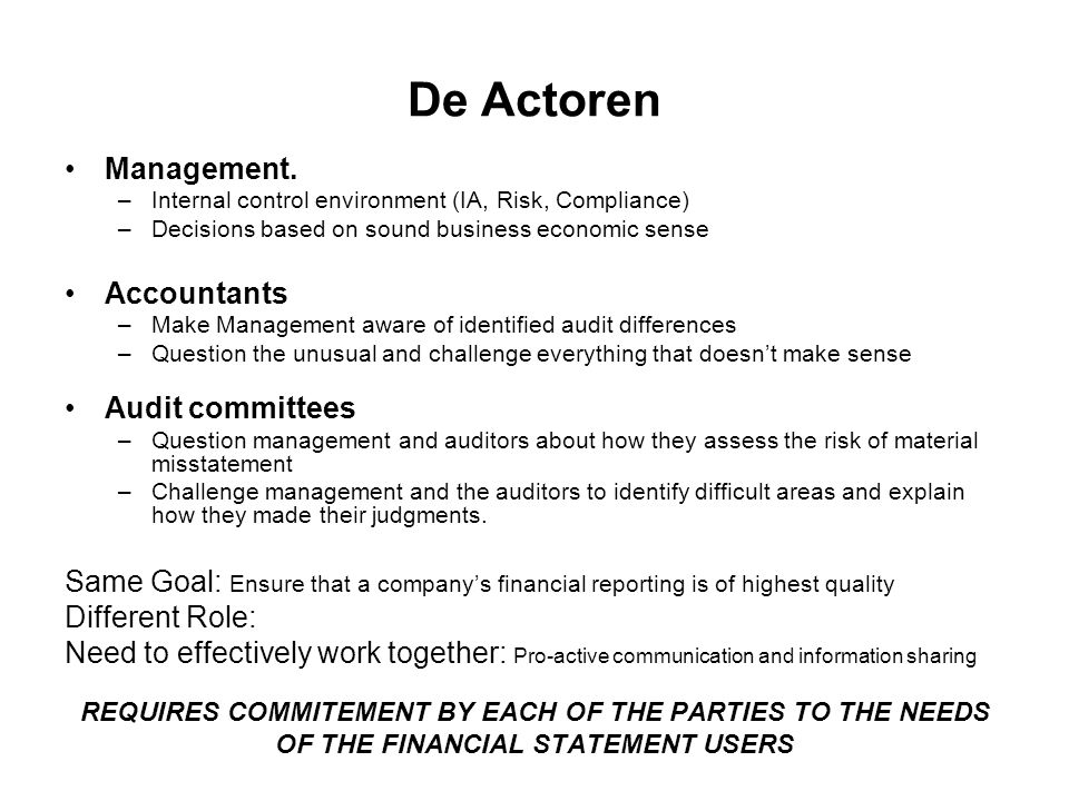 De Actoren Management.