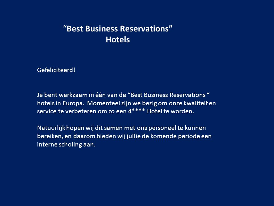 Best Business Reservations Hotels Gefeliciteerd.