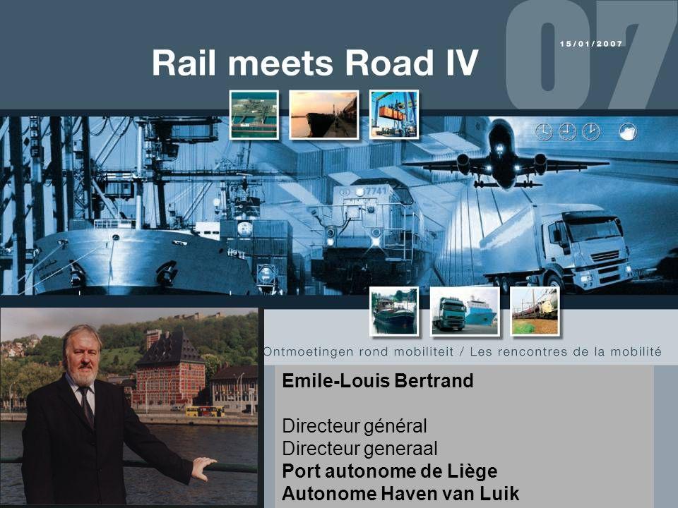 Emile-Louis Bertrand Directeur général Directeur generaal Port autonome de Liège Autonome Haven van Luik