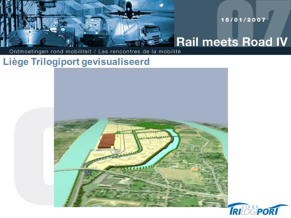 Liège Trilogiport gevisualiseerd