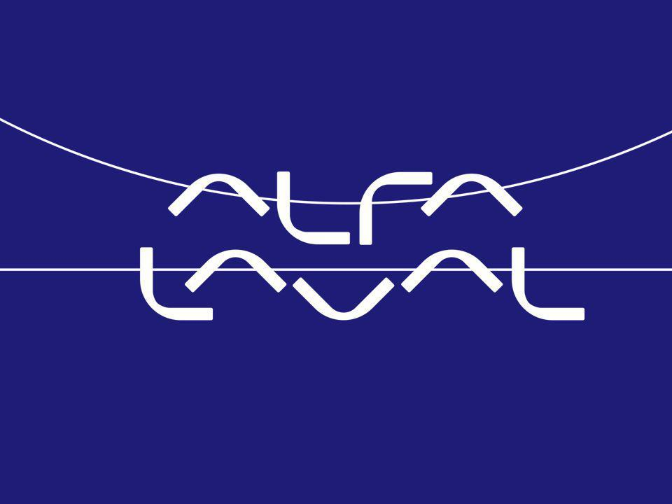 www.alfalaval.com Focus on accurate deliveries Operations Division Coordinates the Group's manufacturing, pur- chasing and logistics for the supply of the right product with the right quality at the right time
