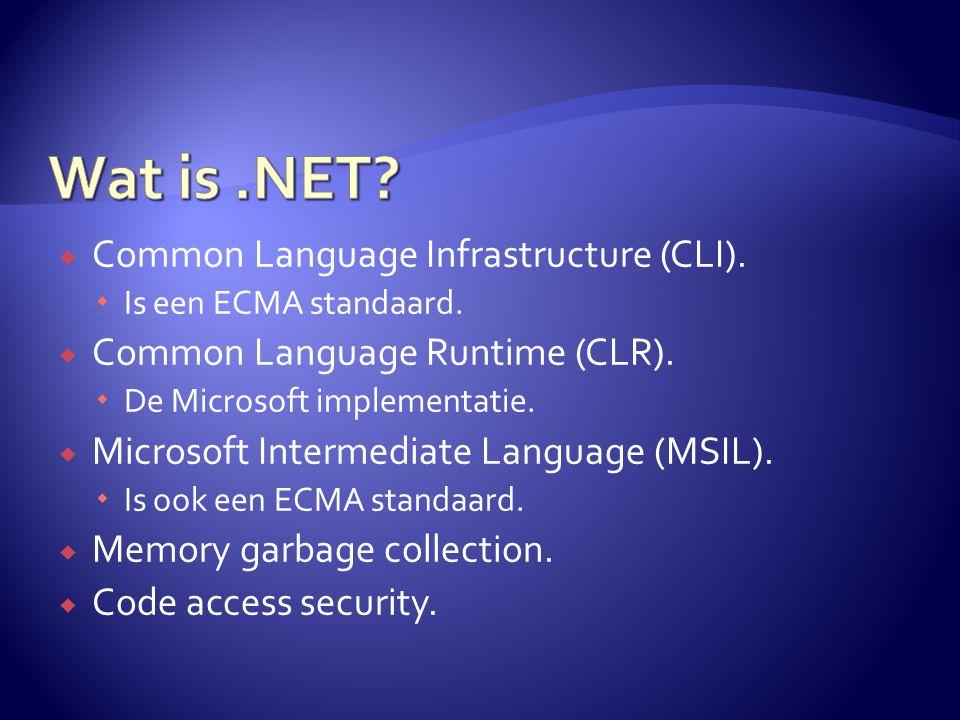  Applicatie framework:  Windows applicaties. Web applicaties.