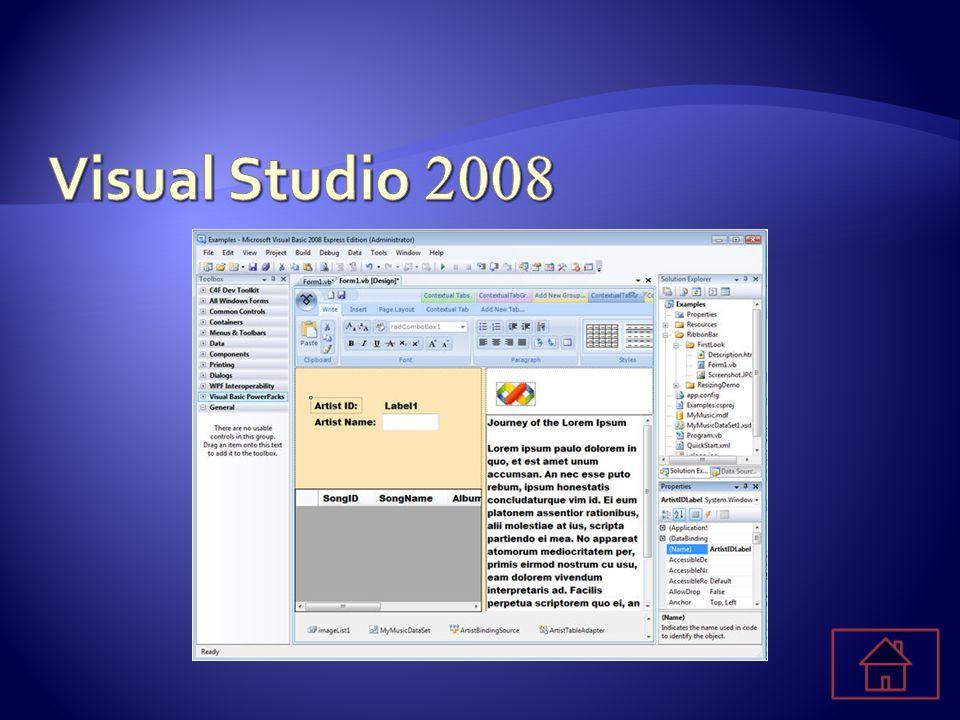  Een toolkit binnen Visual Studio. Een runtime binnen Office 2003 en 2007.