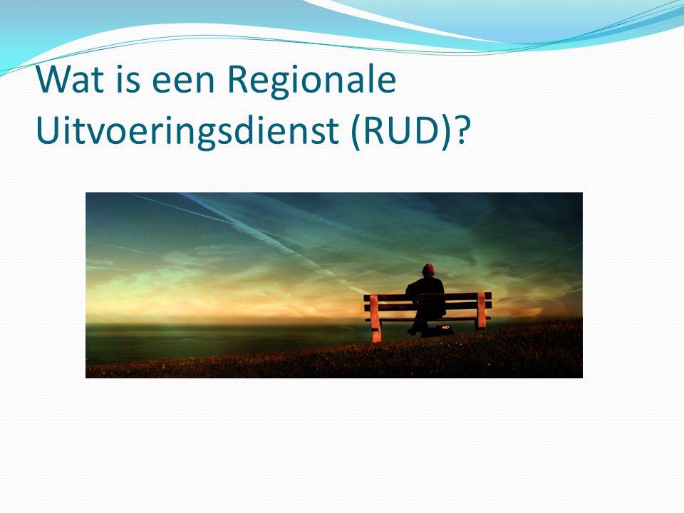 Wat is een Regionale Uitvoeringsdienst (RUD)?