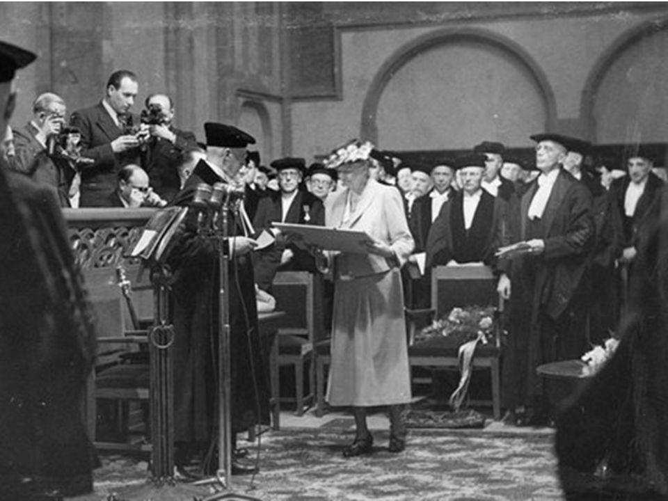 Eleanor Roosevelt over mensenrechten Where, after all, do universal human rights begin.