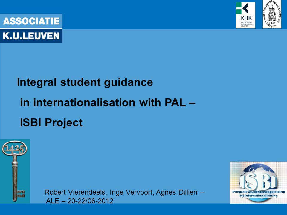 met de steun van het Onderwijsontwikkelingsfonds Associatie K.U.Leuven 42 Offer −Cf.