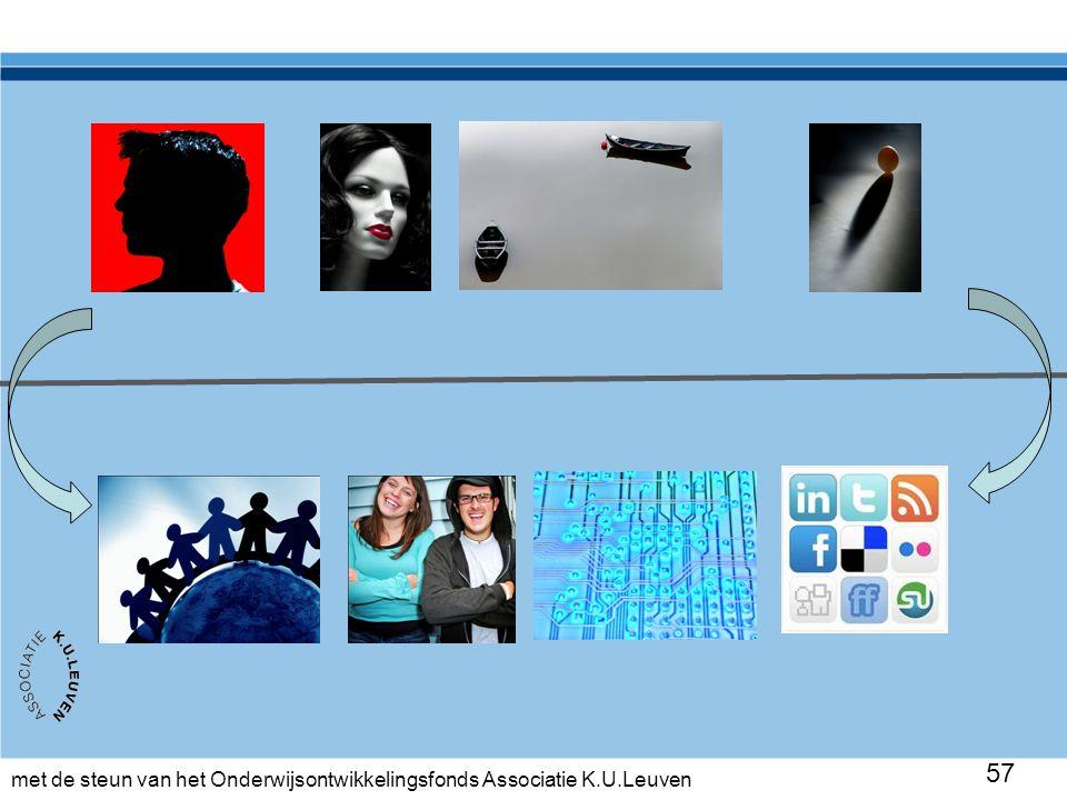 met de steun van het Onderwijsontwikkelingsfonds Associatie K.U.Leuven 57