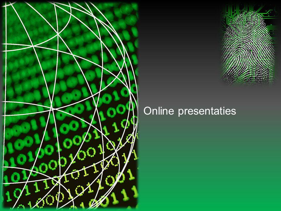 Online presentaties