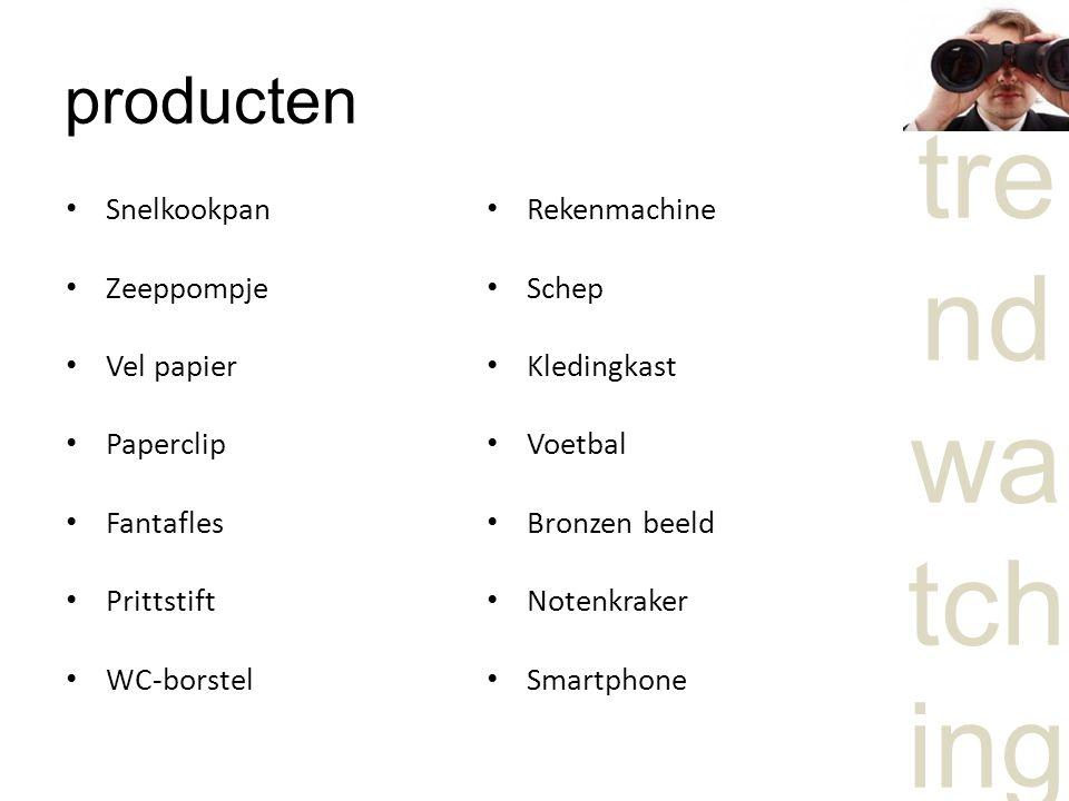 tre nd wa tch ing producten Snelkookpan Zeeppompje Vel papier Paperclip Fantafles Prittstift WC-borstel Rekenmachine Schep Kledingkast Voetbal Bronzen