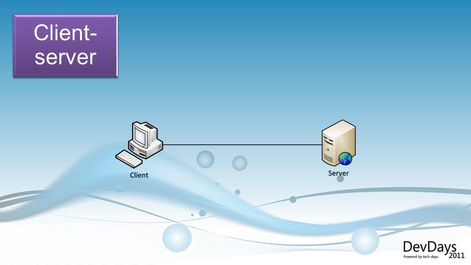 Client- server