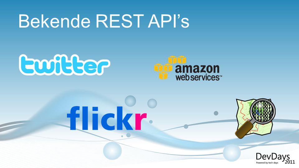 Bekende REST API's