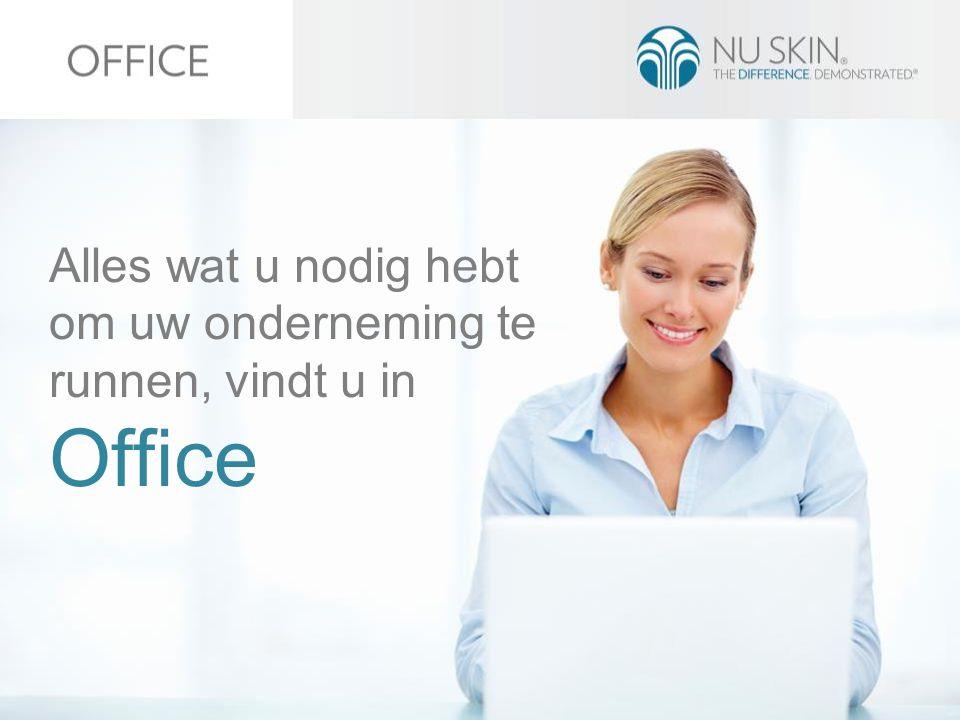 Alles wat u nodig hebt om uw onderneming te runnen, vindt u in Office