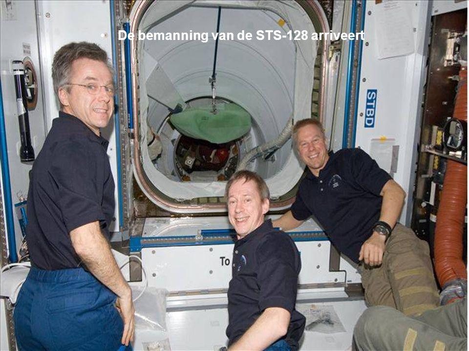 Een opname van dichtbij van het Internationaal Ruimtestation (ISS)
