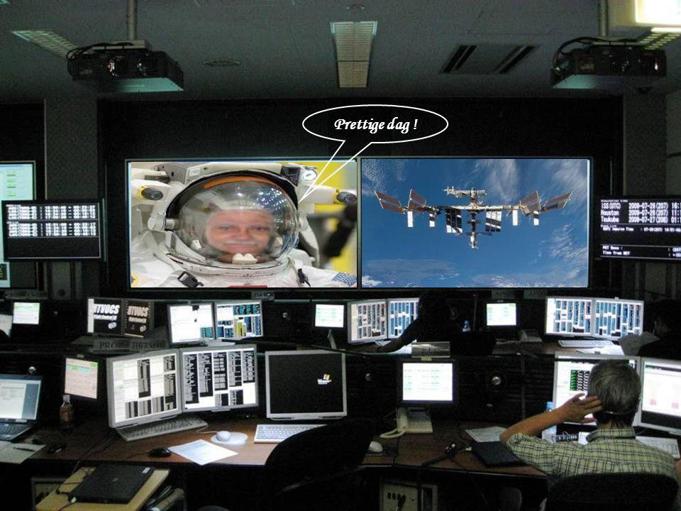 6 oktober 2009: Frank de Winne wordt de EERSTE EUROPEAAN die de functie van boordcommandant van het internationaal Ruimtestation (ISS) krijgt.