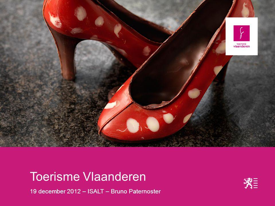 Toerisme Vlaanderen 19 december 2012 – ISALT – Bruno Paternoster