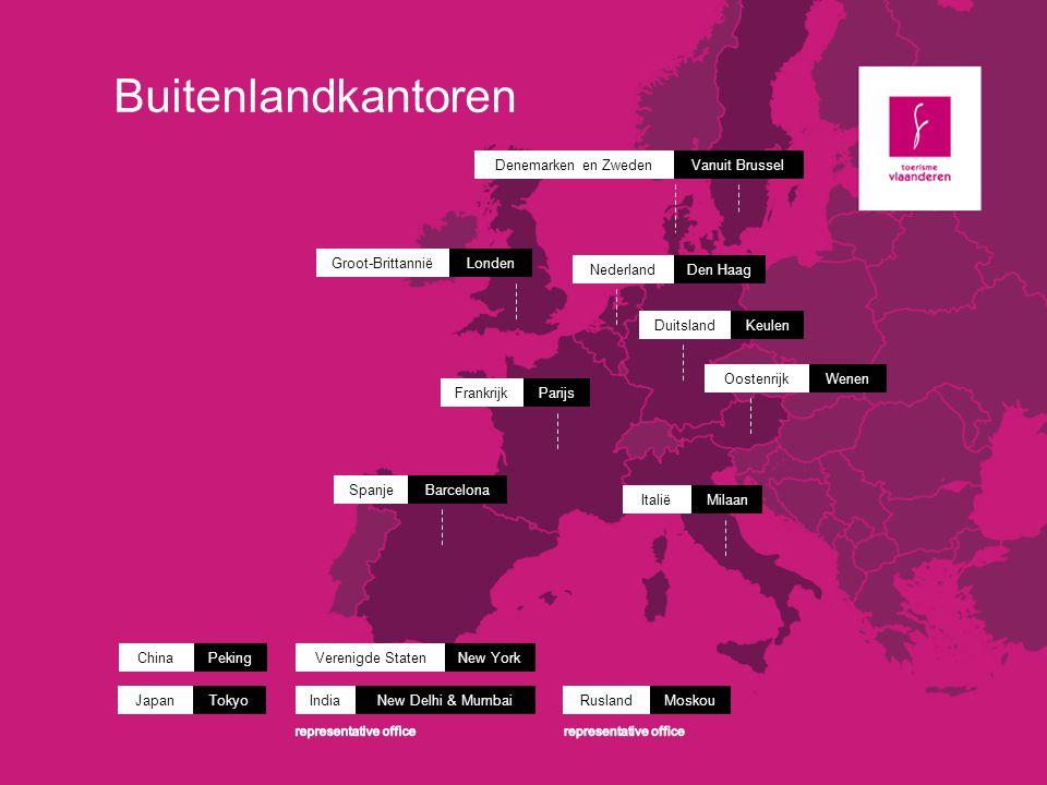 Vlaanderen wordt een verhaal Vlaanderen is een reputatie Vlaanderen is een place to come to Vlaanderen is een place to meet Vlaanderen is een place to be Internationale Marketingstrategie