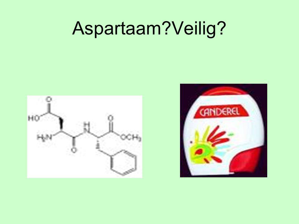Aspartaam?Veilig?