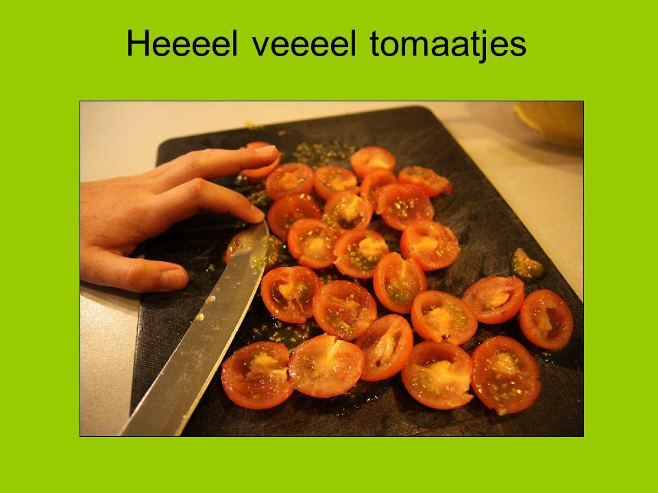 Heeeel veeeel tomaatjes