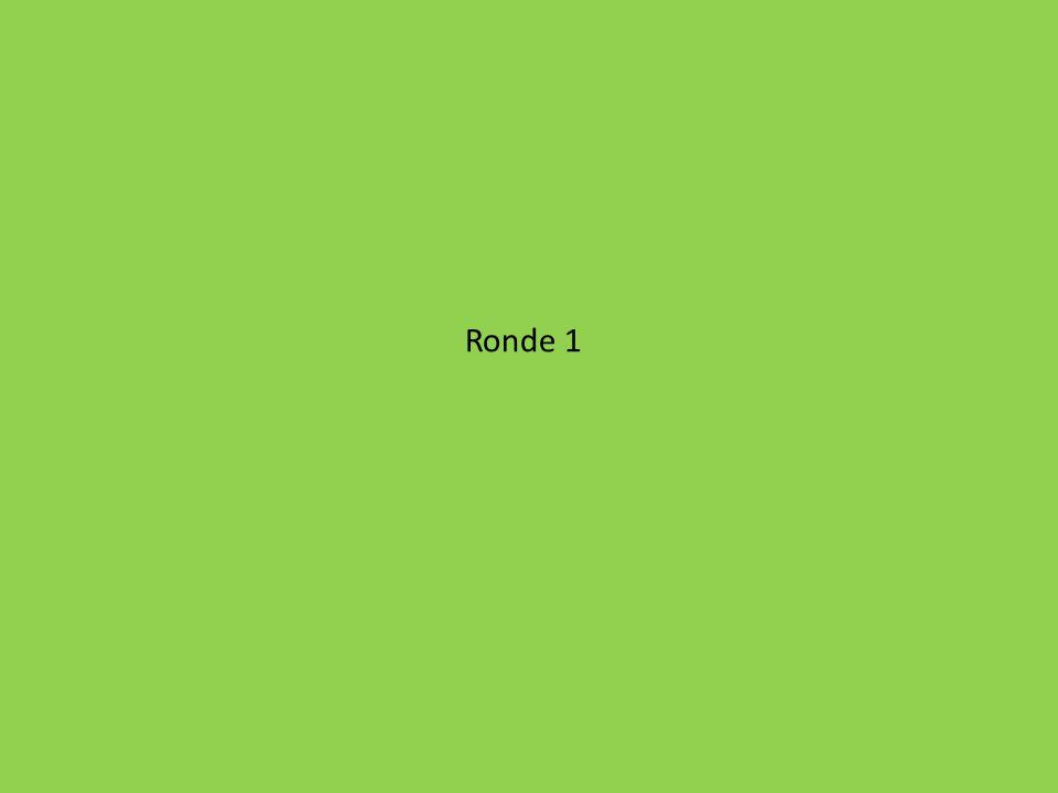 Ronde 1