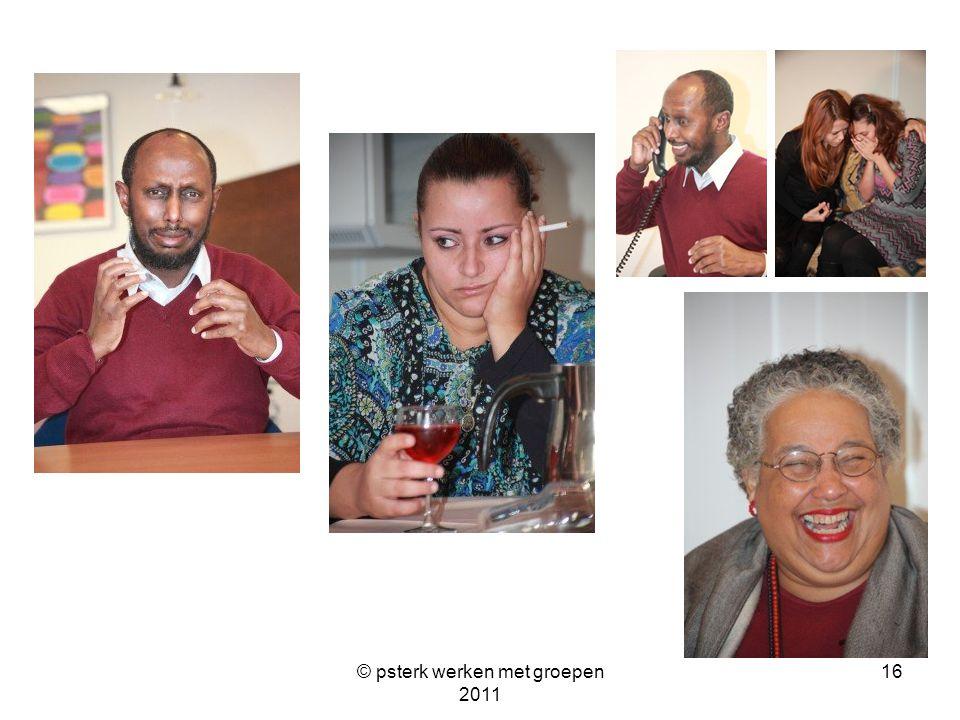 © psterk werken met groepen 2011 16