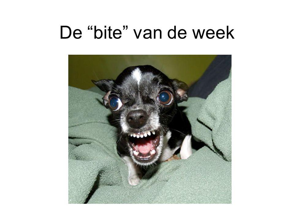 """De """"bite"""" van de week"""