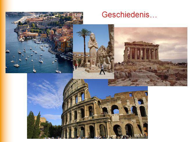Maar ook: welvaartsverschillen en conflicten… Het Middellandse Zeegebied Een gebied van uitersten!