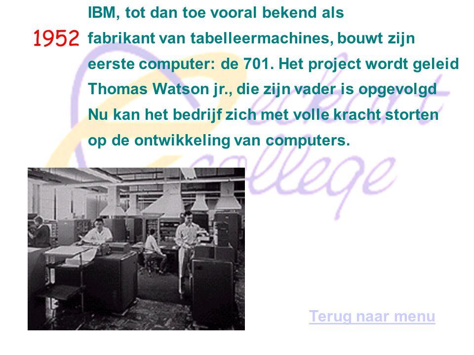1951 Eckert en Mauchly voltooien de eerste commerciële, inwendig geprogrammeerde, elektronische, digitale computer: de Universal Automatic Computer, o