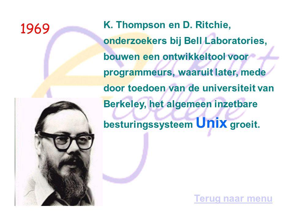 1968 De start van Internet.