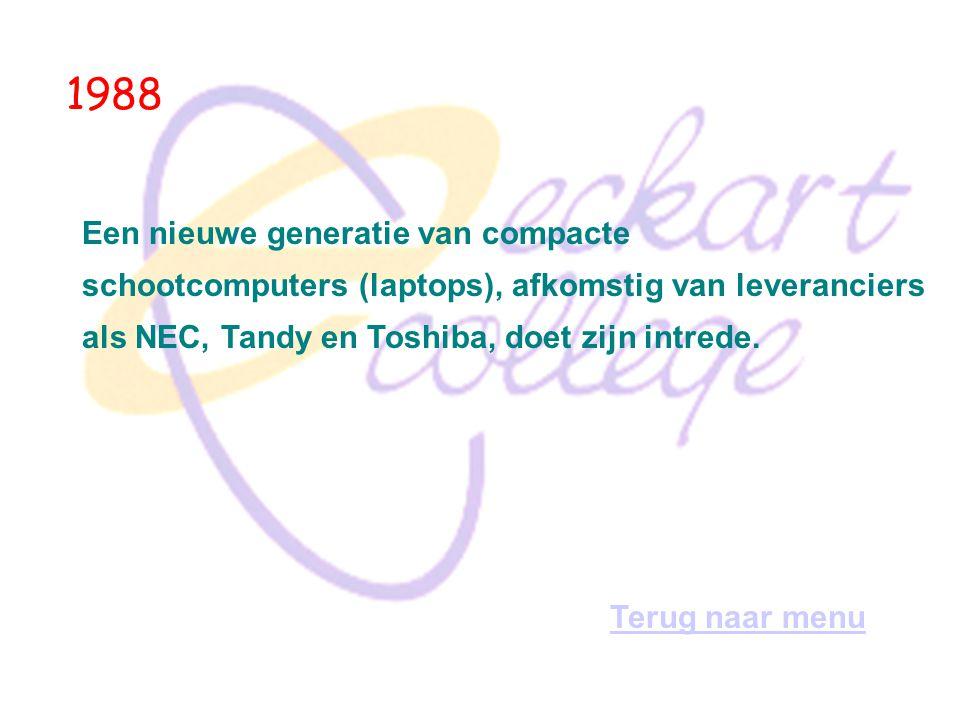 1984 Het echtpaar Sandy Lerner en Len Bosack richten Cisco op.