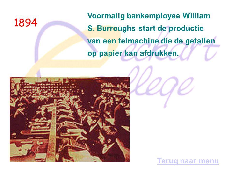 1953 Ook Philips experimenteert met computers.