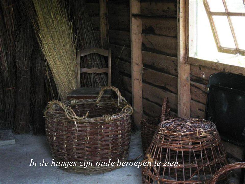 De nesten worden door de mensen aangebracht en door de ooievaars zelf afgemaakt.