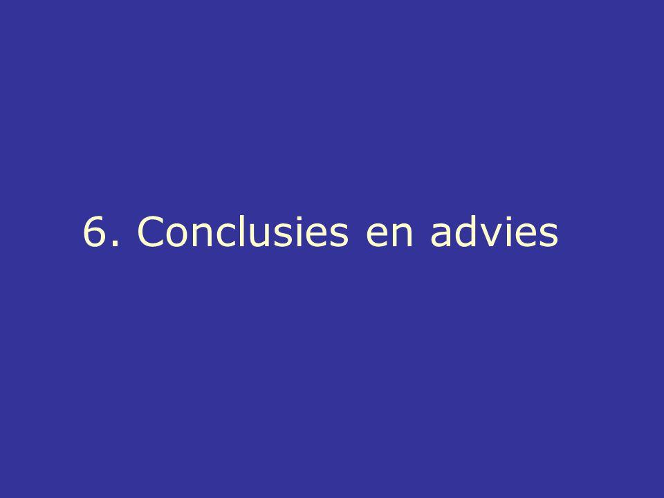 6. Conclusies en advies