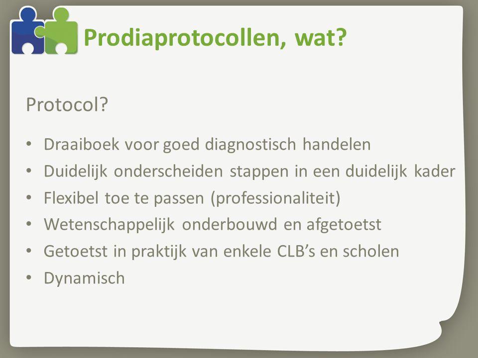 Prodiaprotocollen, wat.Protocol.
