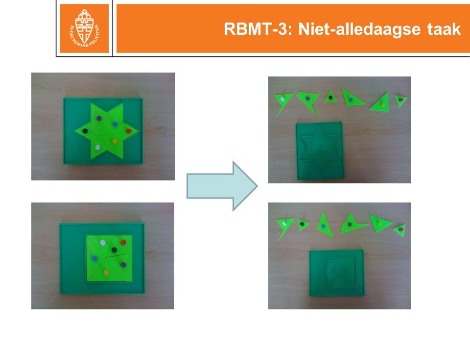 RBMT-3: Niet-alledaagse taak