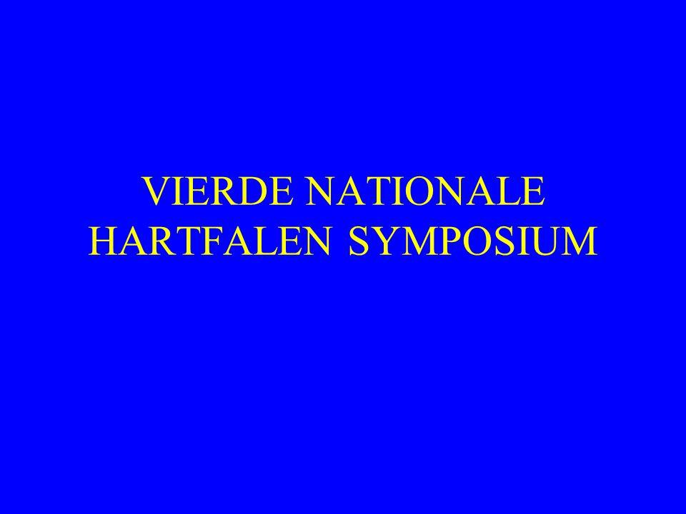 VIERDE NATIONALE HARTFALEN SYMPOSIUM