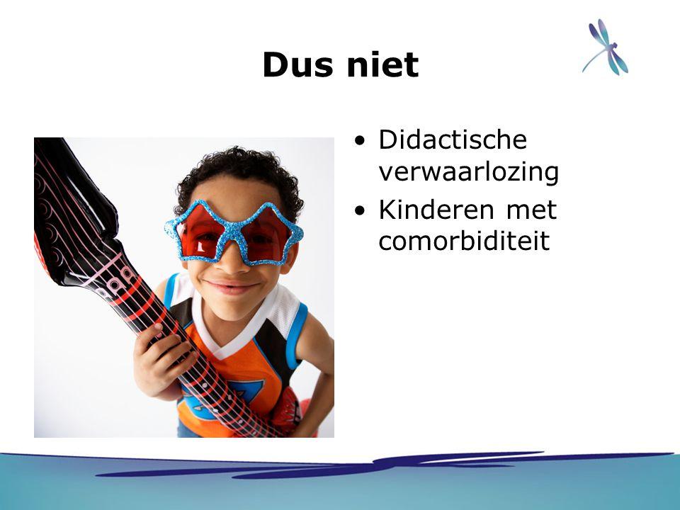 Inhoud behandeling Spelling -Fonologische strategie -Koppeling klankbeeld woordbeeld -Leerstof verbinden met voorkennis -Gebruik van visuele ondersteuning Lezen -Tempo woorden lezen -Teksten lezen waarbij kinderen eigen keuzes kunnen maken