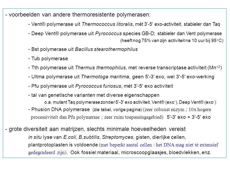 LIC : Ligation-independent cloning (zie ook Deel 4 : gebruik van T4 DNA polymerase) - Vector, gesplitst met SmaI : fragment 1 - Te insereren DNA fragment : fragment 2 : aangemaakt door PCR met primers met 5 staarten die passen in de vectoruiteinden (zie figuur).