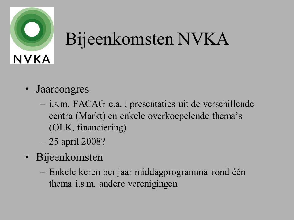 Bijeenkomsten NVKA Jaarcongres –i.s.m. FACAG e.a.
