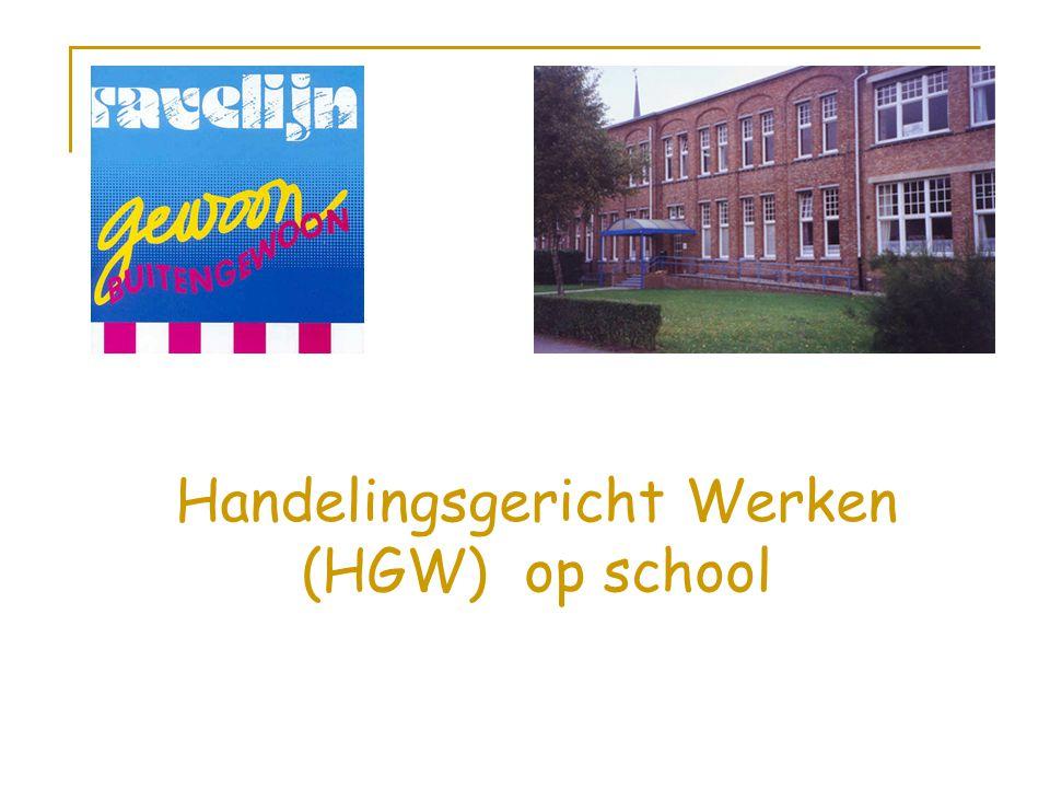 Handelingsgericht Werken (HGW) op school
