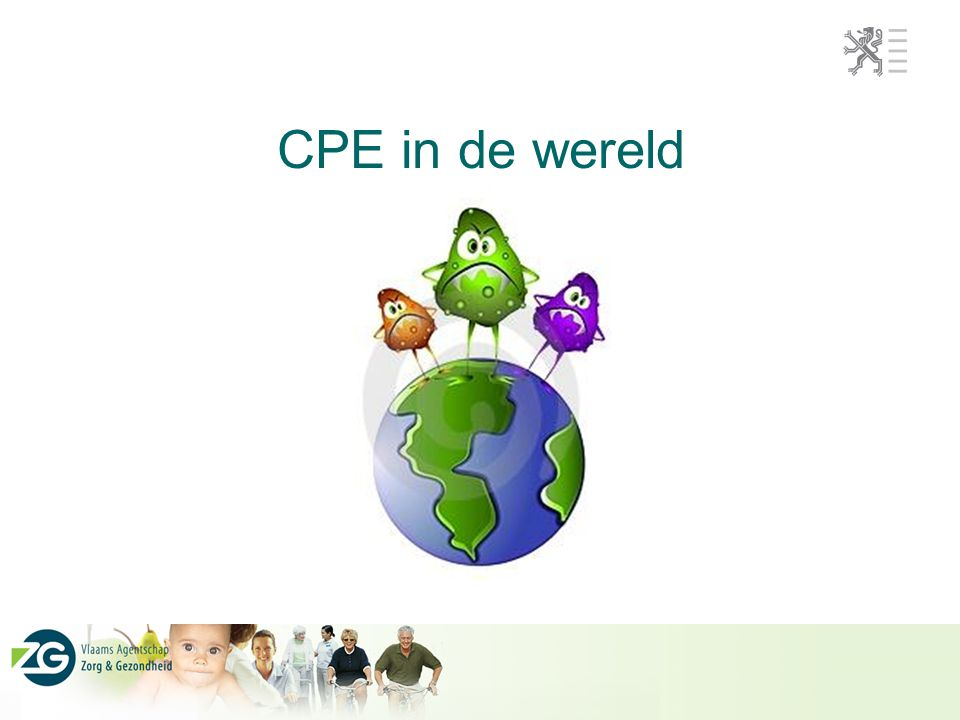 CPE in de wereld