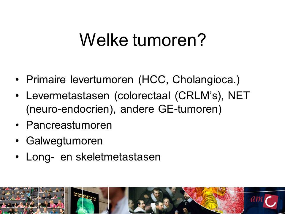 Welke tumoren.