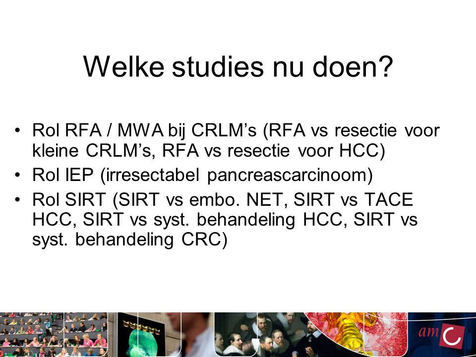 Welke studies nu doen.